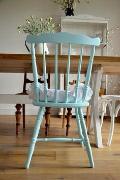 Krzesło toczone stare vintage - ihaha - Krzesła