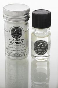 Wild Crafted Manuka Essential Oil (Leptospermum scoparium) (10ml) by NHR Organic Oils . $40.80. Botanical name ~ Leptospermum scoparium.Caution - Avoid in pregnancy or with sensitive skins.Aroma ~ Gentle, sweet and herbaceous aroma, unlike the 'East Cape' chemotype which is strong lemony and pungent. Extraction ~ by steam distillation. Part of plant ~ from the leaves and branches.Country of Origin ~ New ZealandChemical Constituents ~ Leptospermone, calamenene, cadina-1.4-die...