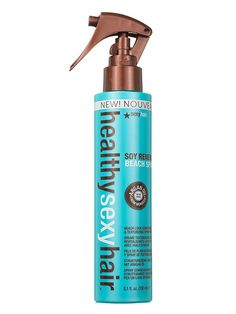 A few spritzes of argan oil-, sea salt- and soy protein-infused Sexy Hair Healthy Sexy Hair Soy Renewal Beach Spray will get your hair to Gisele territory