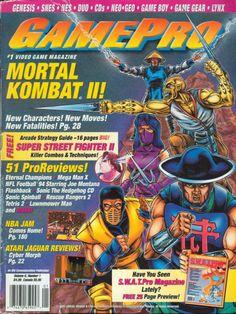GamePro magazine Mortal Kombat II cover.