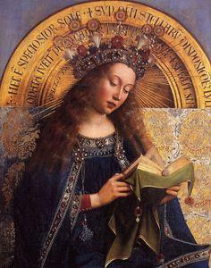 janVan Eyck - retable agneau mystique