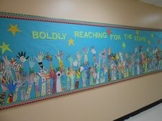 Bolding Reaching for the Stars.. beginning or end of the year project...5th grade graduation