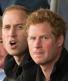 Prince William, Duke of Cambridge and Prince Harry watch the athletics at Lee Valley Track during the Invictus Games on 11.09.2014 in London, England.