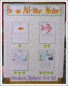 Mrs. Byrd's Learning Tree: All-Star Student Writing Rubric - easy to make rubric that can adapt and change as your writers do throughout the year.