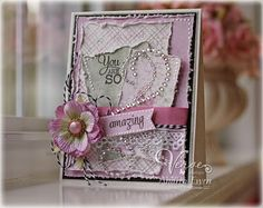 Made with Verve Stamps and Maja Design papers. Created by Andrea Ewen