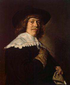 Portret van een jonge man met handschoen ~ ca. 1650 ~ Olieverf op doek ~ 80 x 66,5 cm. ~ Hermitage, Sint Petersburg