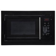 SIA Black Integrated Built in Digital Timer Microwave Oven Digital Timer, Microwave Oven, Integrity, Kitchen Appliances, Amazon, Building, Black, Diy Kitchen Appliances
