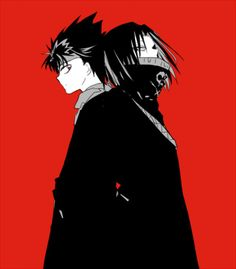 Feitan and hiei yu yu hakusho Hunter x Hunter