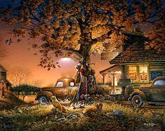 levkonoe: Terry Redlin. Twilight Time