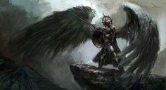 fallen angel by chevsy on deviantART