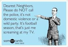 Haha this is so true... I love my USC Trojans!!!! Fight On!!! Can't wait for football season!!