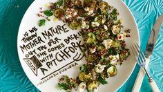 Recipe: Roasted feta with quinoa & zucchini | Stuff.co.nz