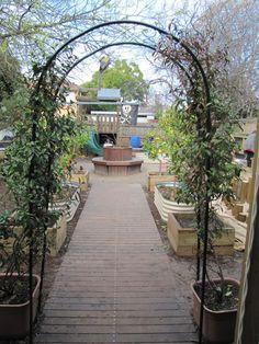 Entrance to magical garden