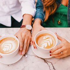 If there was one person you could share a #cappuccino with, who would it be?