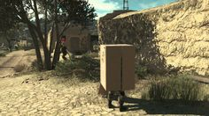 The Silly Ways You Can Use The Cardboard Box In Metal Gear Solid V: The Phantom Pain!   http://thosevideogamemoments.tumblr.com/post/94778648460/the-silly-ways-you-can-use-the-cardboard-box