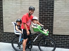 Sharing our family urban biking adventures on the blog today with some recommendations on our favorite seats for kids big and small.