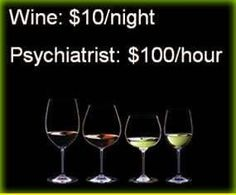 I'll take wine..