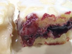 Aunt Peg's Recipe Box: Glazed Fruit Pie Bars