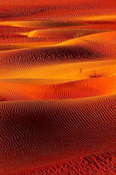 Orange Textures and Patterns, Hadramawt, Yemen by cetacea
