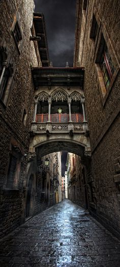 Barrio Gotico, Barcelona, ​​Spain
