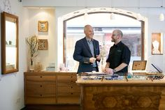 """""""We're the Armbruster brothers!"""" A story about two brothers who couldn't be more different came together to successfully run their family business. Stefan and Jürgen Armbruster from the prestigious jeweler in Seefeld. Two Brothers, Family Business, Design Crafts, Alps"""