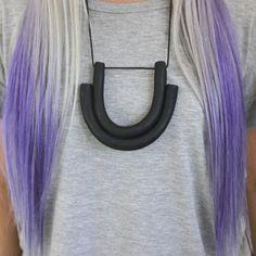 Double U Necklace