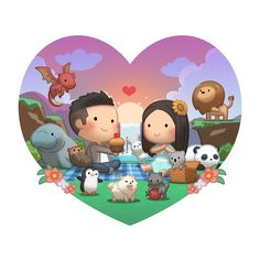 Story of Our Relationship - HJ-Story Chibi Couple, Cute Couple Cartoon, Cute Cartoon Characters, Cartoon Love Quotes, Cute Love Cartoons, Mobile Stickers, Hj Story, Cute Romance, Cute Love Stories