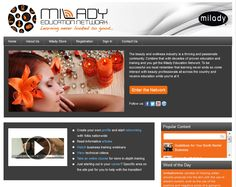 Milady Education Network Virtual Catalogue - watch training webinars, read educational articles, network with beauty professionals all around the world and LEARN! #miladyteam #social27 #education
