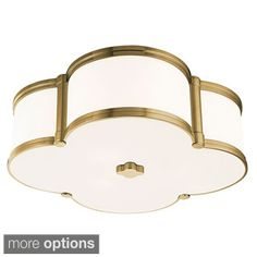 Shop for Hudson Valley Chandler 3-light Flush Mount. Get free delivery at Overstock.com - Your Online Home Decor Shop! Get 5% in rewards with Club O!