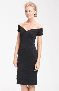 T by Tadashi Off Shoulder Bandage Dress | Nordstrom