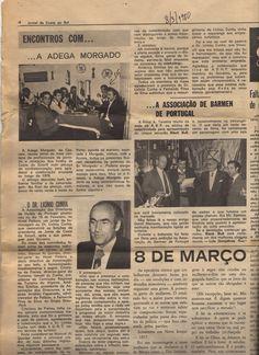 Regresso de Licinio Cunha à presidencia da JTCE e Convivio no Morgado, um restaurante que existiu onde é hoje o parque de estacionamento do Pão-de-Açucar Cascais