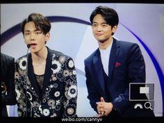 160329 SHINee MinKey - KU Asia Music Awards in Guangzhou