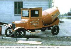1922 Model TT Ford Cement truck