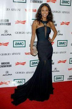 Joy Bryant Joy Bryant, Dream Prom, Prom Dresses, Formal Dresses, Black Is Beautiful, Hollywood Actresses, Red Carpet, Formal Fashion, Celebs