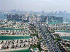 Waterfront apartment at the Kempinski Palm Residence, Dubai, the UAE.