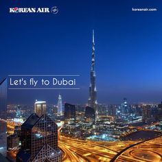 We'll increase flights between Seoul and Dubai from 5 weekly to daily operation from March 29.