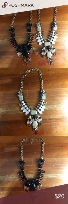 Statement Necklaces Edgy statement necklaces in 2 different colors. Makes a statement! Jewelry Necklaces