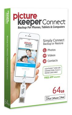 Picture Keeper Connect | Mobile Backup | PIcture Keeper