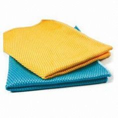 Diamond Towels, Suitable for Dishcloth or Duster, OEM and ODM Orders are Welcome