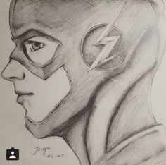 Barry Allen A.K.A the Flash!!! Credit to whoever drew this! It's amazing