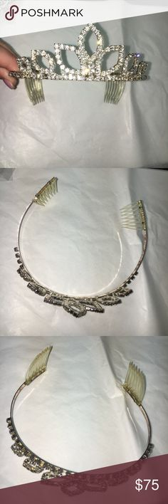 Princess tiara Worn once! Perfect condition super comfy Accessories Hair Accessories
