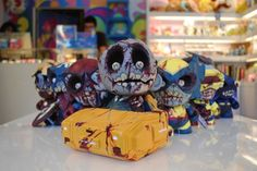 ArtistLotan Kritchmanfinished up work on his series ofMunny Marvel Zombies. These zombified superheroes include:Professor X,Captain America,Wolverine,Spider-Man,Iron Man,Cyclops, andBeast. These are currently available to purchase via theDIY Customs Shop, ranging in price from$135.00 to $175.00 each.    You can see video tutorials ofLotan Kritchmanpainting these @ www.noproshow.com