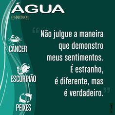 """150 Likes, 3 Comments - Esotérica™ (@iesoterica) on Instagram: """"#signos #signo #signodeágua #câncer #peixes #escorpião #frase frases #pensamentos"""""""