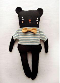 ♥ The Black Apple bear
