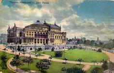 1915 -Teatro Municipal de São Paulo