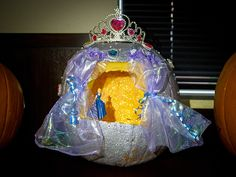 CoServ 2015 Pumpkin Carving Contest Entry - THIRD PLACE (Cinderella)