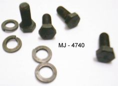 Lot of Bolts and Lock Washers (NOS)  #Unknown