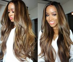 Hair color is everything. Coco Black Hair provide the most natural looking hair and wigs Change yourself today! Dope Hairstyles, Weave Hairstyles, Straight Hairstyles, Updo Hairstyle, Wedding Hairstyles, Curly Hair Styles, Natural Hair Styles, Cute Hair Colors, Trend Fashion