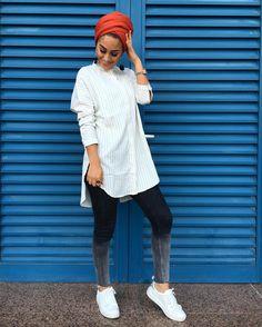 Likes, 21 Comments - Muslimah Apparel Things ( on I. Street Hijab Fashion, Muslim Fashion, Modest Fashion, Fashion Outfits, Turban Outfit, Turban Style, Turban Hijab, Hijab Fashion Inspiration, Mode Inspiration