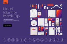 Hotel Identity Mock-up by Mocca2Go/mesmeriseme on @creativemarket
